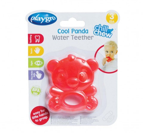 Playgro Cool Panda Water Teether New Born for Kids Age 3Y+