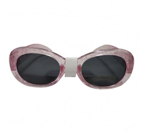 Frozen  Pink Glitter Wrap Around Sunglasses, 2Y+