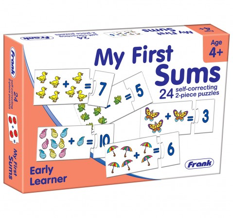 Frank My First Sums Puzzles for Kids age 4Y+