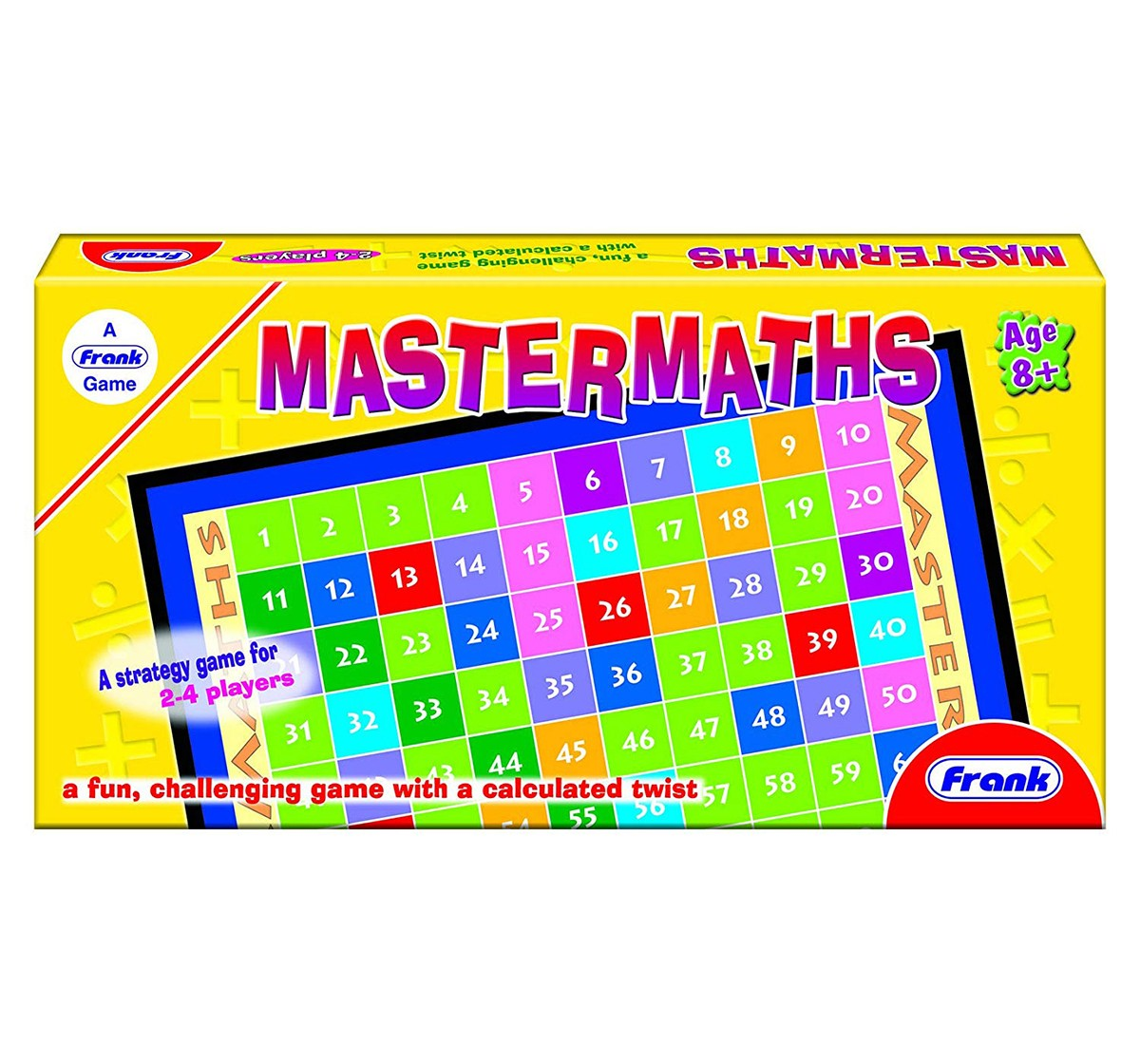 Frank  Mastermaths Board Game For 8 Year Old Kids And Above Puzzles for Kids age 6Y+