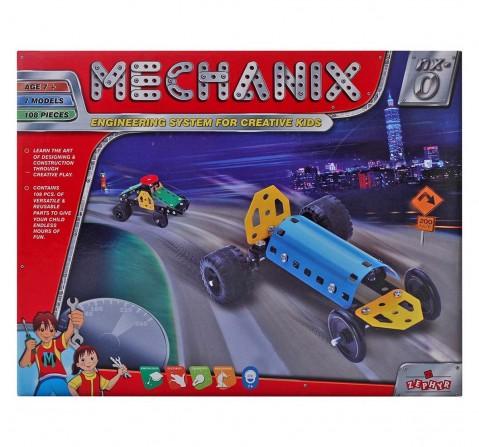 Mechanix 3601001 Metal Nx - 0 Construction Sets for Boys age 7Y+