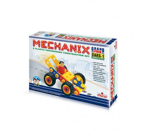 Mechanix  plastic and  cars  1 Construction Sets for Kids age 3Y+