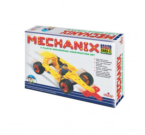 Mechanix 3602002 Plastic Cars - 2 Construction Sets for Boys age 3Y+