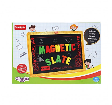 Funskool Magnetic Slate Activity Table & Boards for Kids age 3Y+