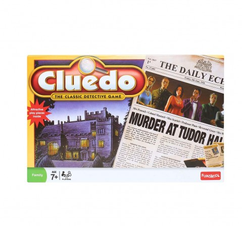 Funskool Cluedo,Multi-Colour Board Games for Kids age 7Y+