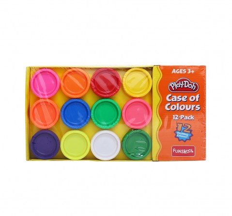 Funskool Play-Doh Case Of Colours Clay & Dough for Kids age 3Y+