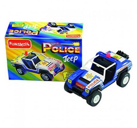 Funskool Police Jeep, Unisex, 2Y+ (Blue)