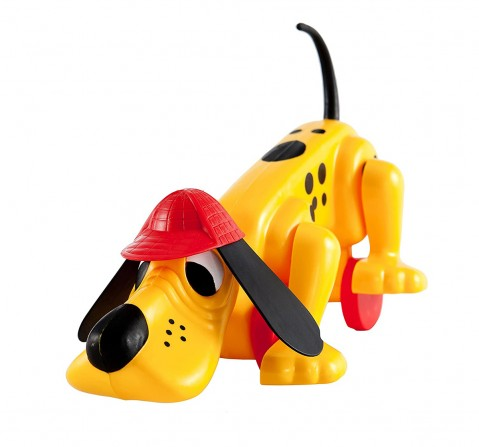 Giggles Digger The Dog Activity Toys for Kids age 12M+ (Yellow)