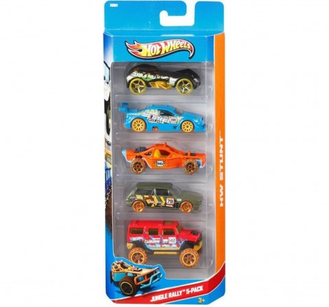 Hot Wheels Die Cast Cars Pack of 5 Vehicles for Kids age 3Y+