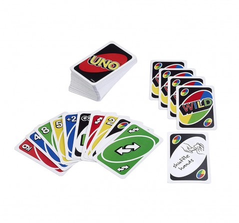 Mattel Uno Card Game Games for Kids age 7Y+