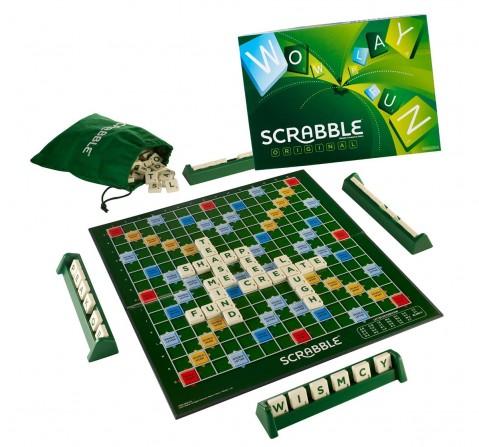 Mattel Scrabble Board Game, Multi Color Board Games for Kids age 10Y+