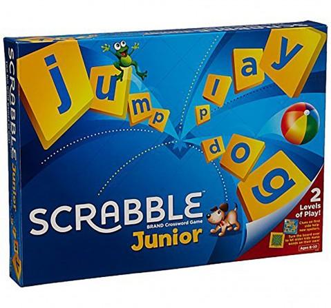 Mattel Junior Scrabble Crossword Game Board Games for Kids age 5Y+