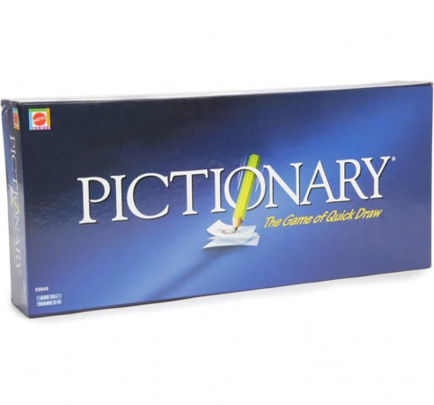 Mattel Pictionary - The Game Of Quick Draw Board Games for Kids age 10Y+
