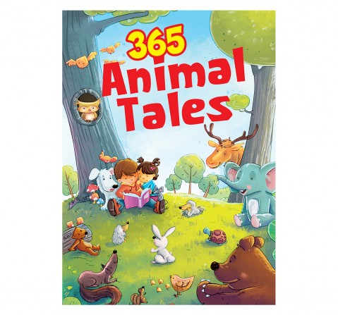 Om Books: 365 Animal Tales, 236 Pages, Hardcover