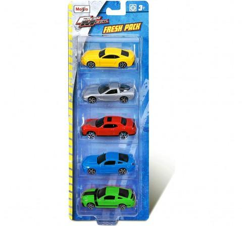 Maisto Die-Cast Metal Kruzers Pack of 5 Vehicles for Kids age 3Y+