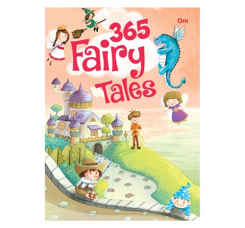 Om Books: 365 Fairy Tales, 236 Pages, Hardcover