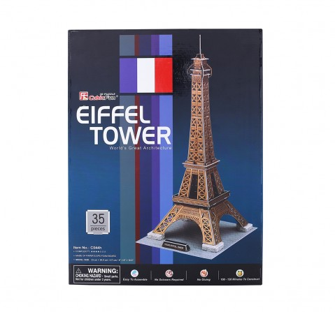 Cubic Fun Eiffel Tower Puzzles for Kids age 3Y+