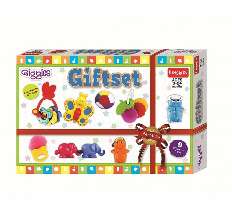 Giggles Gift Set New Born for Kids age 12M+