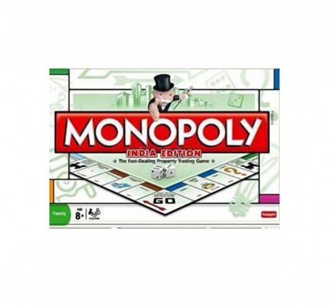 Funskool Monopoly India Edition Board Games for Kids age 8Y+