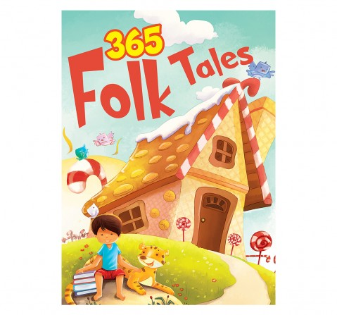 Om Books: 365 Folk Tales, 236 Pages, Hardcover