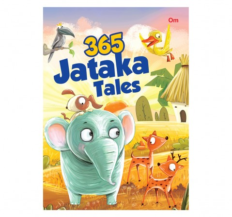 Om Books: 365 Jataka Tales, 236 Pages, Hardcover