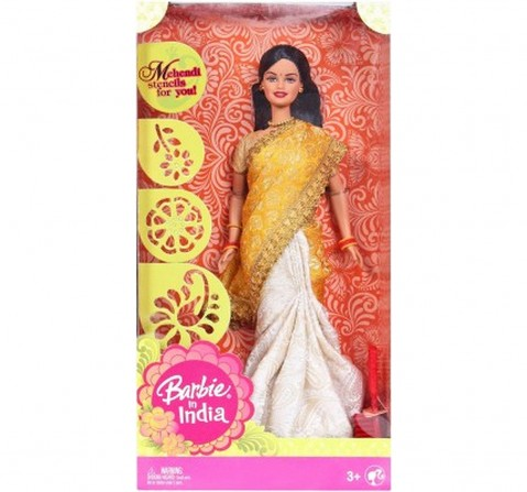 Barbie in India in New Look, New Brocade & Silk Sari Dolls & Accessories for Kids age 3Y+