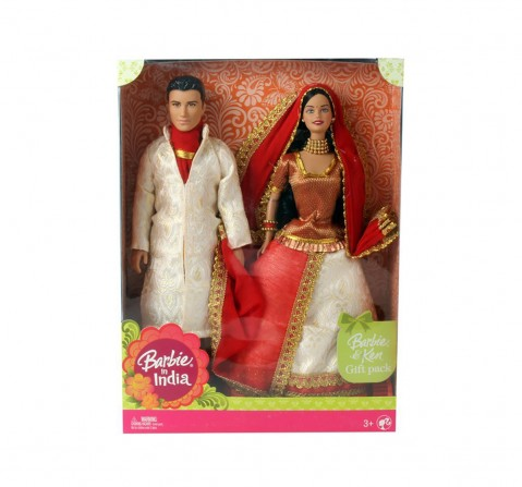 Barbie And Ken In India (Color May Vary) Dolls & Accessories for Kids age 3Y+