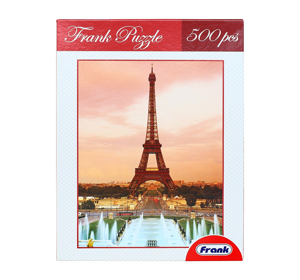 Frank  Eiffel Tower Puzzle for Kids age 3Y+