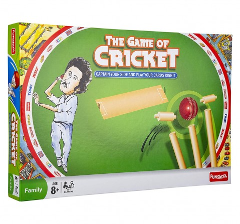 Funskool  The Game Of Cricket, 4Y+ (Multicolor)