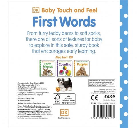 Baby Touch & Feel : First Words, 176 Pages Book by DK Children, Paperback