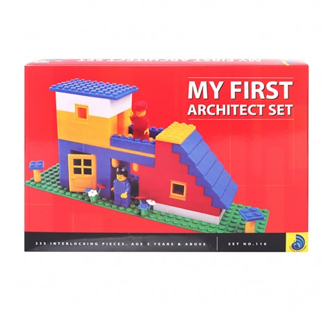 Peacock  My First Architect Set Generic Blocks for Kids age 5Y+