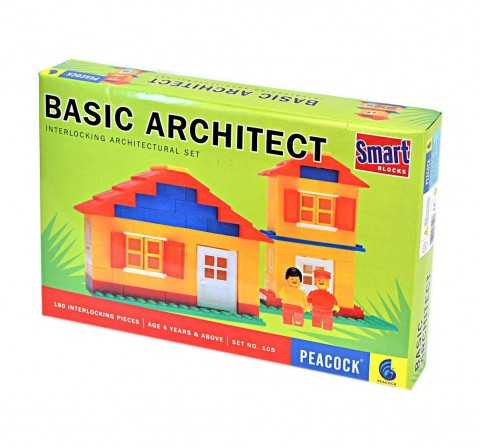 Peacock  Basic Architect Generic Blocks for Kids age 4Y+