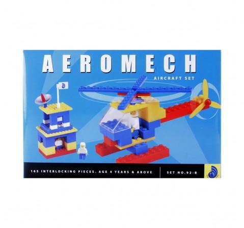 Peacock  Aeromech Aircraft Set Generic Blocks for Kids age 4Y+