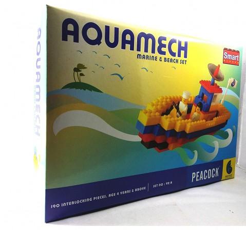 Peacock  Aquamech Generic Blocks for Kids age 4Y+