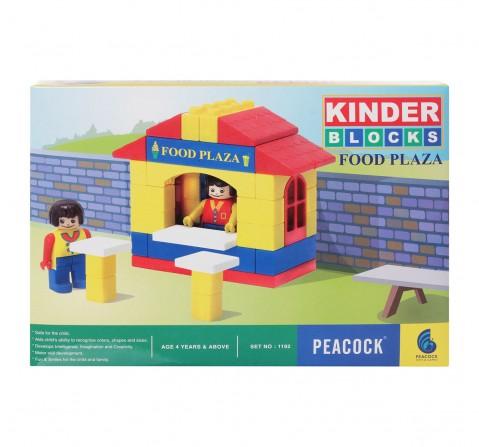 Peacock  Kinder  Food Plaza Generic Blocks for Kids age 4Y+