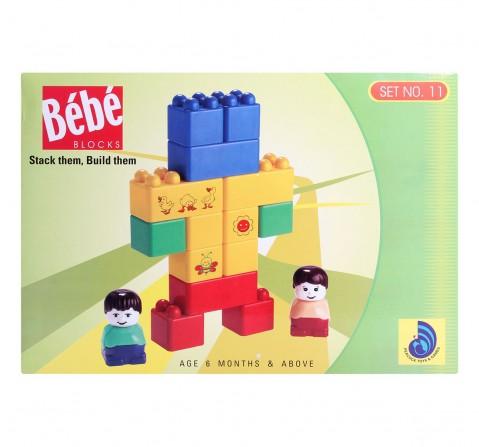 Peacock  Bebe  Set No 11 Generic Blocks for Kids age 6M+