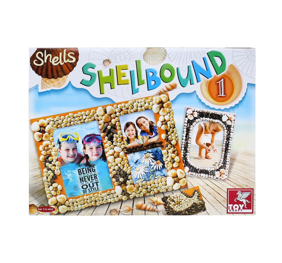 Toy Kraft Shellbound-1 DIY Art & Craft Kits for Kids age 5Y+