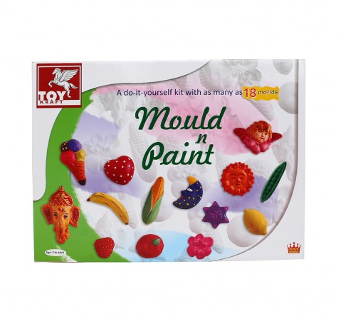 Toy Kraft Mould And Paint DIY Art & Craft Kits for Kids age 5Y+
