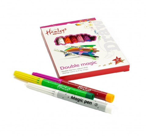 Hamleys Double Magic Marker Pens School Stationery for Kids age 3Y+