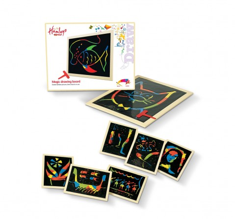 Hamleys Magic Drawing  Activity Table & Board for Kids age 4Y+