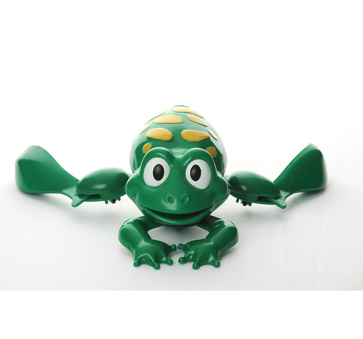 Hamleys Swimming Frog Bath Toy (Green) Bath Toys & Accessories for Kids age 12M+ (Green)