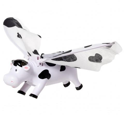 Hamleys Flying Cow (White/Black) Impulse Toys for Kids age 3Y+