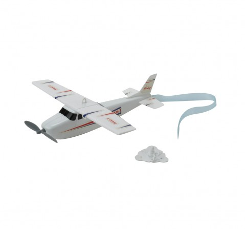 Hamleys Rota-Plane Toy With Searchlight (Red/Black) Impulse Toys for Kids age 3Y+