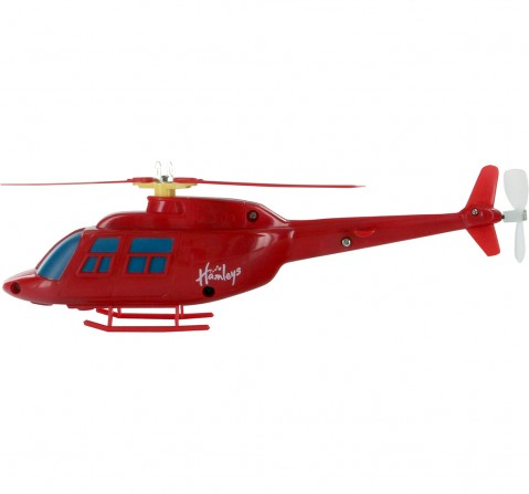 Hamleys Rota-Copter With Searchlight (Red) Impulse Toys for Kids age 3Y+ (Red)