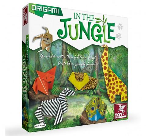 Toy Kraft Origami - In The Jungle, Multicolor, 5Y+