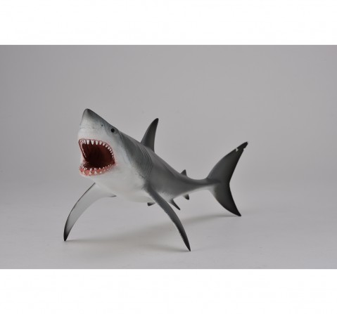 Collecta Great White Shark with Open Jaw Animal Figure for Kids age 3Y+