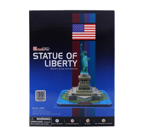 Cubic Fun  Statue Of Liberty (U.S.A) Puzzles for Kids age 3Y+