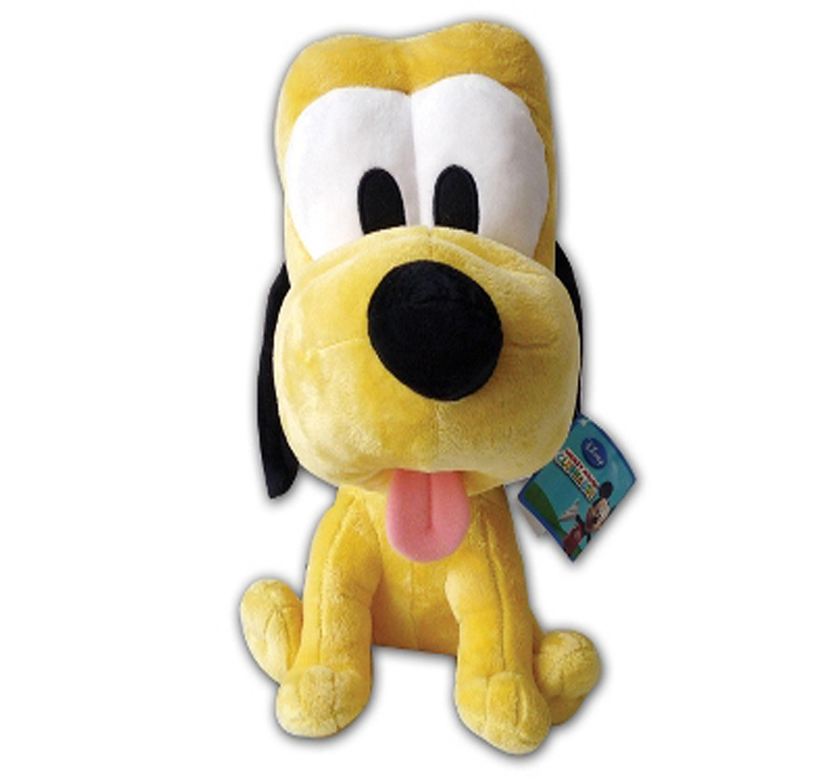 """Disney Pluto Big Head 10"""" Character Soft Toy for Kids age 1Y+ (Yellow)"""