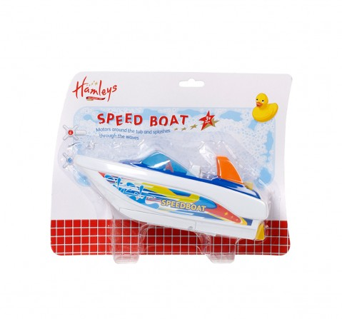 Hamleys Speed Boat Bath Toy Bath Toys & Accessories for Kids age 2Y+