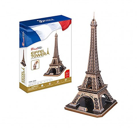 Cubic Fun  3D Puzzle - Eiffel Tower (Regular) Puzzles for Kids age 10Y+